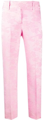 Ermanno Scervino Floral Printed Skinny Trousers