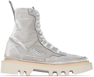 Rombaut Mesh Panel High-Top Sneakers