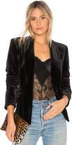 1 STATE Velvet Tuxedo Blazer