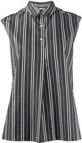 Aspesi sleeveless striped shirt