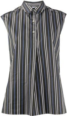Aspesi Sleeveless Striped Shirt