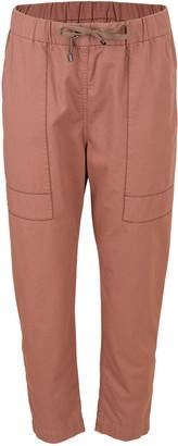 Brunello Cucinelli Garment Dye Drawstring Jogger Pant