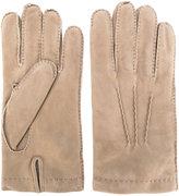 Eleventy casual gloves - men - Sheep Skin/Shearling - L