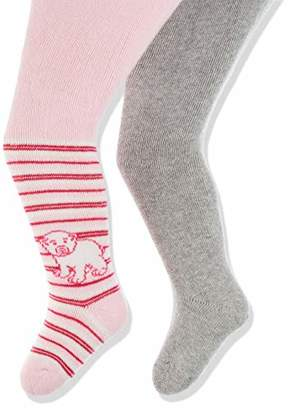 Playshoes Baby warme und elastische Thermo-Strumpfhosen Eisbär Tights,86/92 (pack of 2)