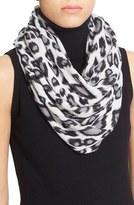 Autumn Cashmere Women's Leopard Print Cashmere Scarf