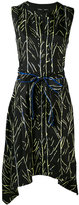 Proenza Schouler branch print dress - women - Silk - 8