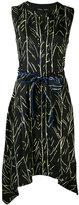 Proenza Schouler branch print dress - women - Silk - 8