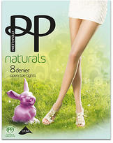 Pretty Polly Naturals Toeless Pantyhose