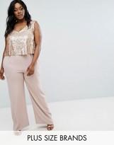 Elvi Premium Sequin Bodice Jumpsuit