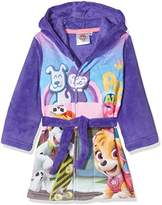 Nickelodeon Girl's Paw Patrol Pups At Play Dressing Gown