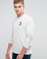 Franklin & Marshall Crest Logo Long Sleeve T-Shirt