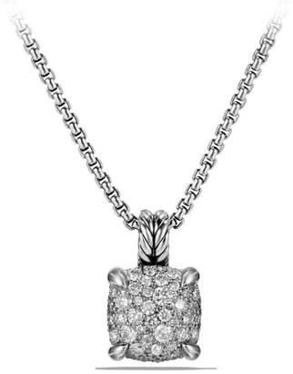 David Yurman Chatelaine Pendant Necklace with Diamonds/11mm