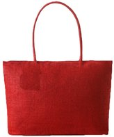 Donalworld Woen Weave Casual Suer Beach Faux Straw Tote Handbag