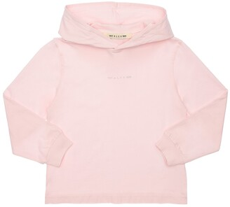 Alyx Logo Detail Cotton Sweatshirt Hoodie