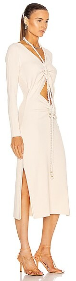 Thumbnail for your product : Nicholas Luisa Dress in Cream