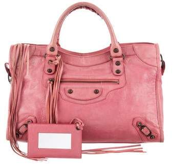906d5699fed Pink Balenciaga City - ShopStyle