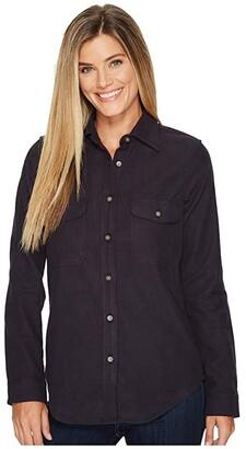 Filson Moleskin Shirt (Navy) Women's Clothing