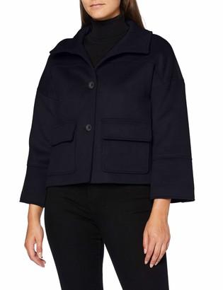 Gant Women's D1. Wool Blend Cropped Jacket