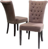 Asstd National Brand Ashlin Set of 2 Tufted Dining Chairs