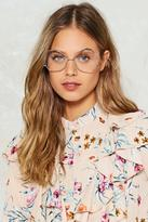 Nasty Gal nastygal Play Ball Round Glasses