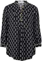 Libelula Goodie Top Black and White Print