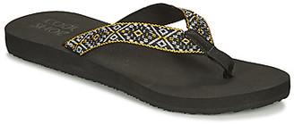 Cool shoe CONEY women's Flip flops / Sandals (Shoes) in Black