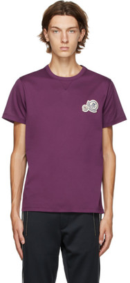 Moncler Purple Logo T-Shirt