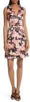 Saloni Women's Lara Fit & Flare Dress