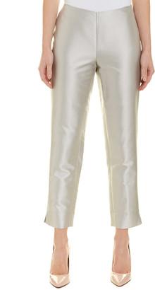 Lafayette 148 New York Stanton Silk-Blend Pant