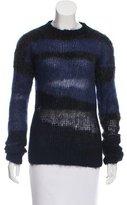 Joseph Mohair Crew Neck Sweater