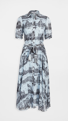 Derek Lam 10 Crosby Faye Button Down Midi Dress
