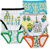 JCPenney LICENSED PROPERTIES Minions 5-pk. Briefs - Boys 4-8
