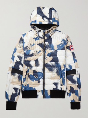 Canada Goose Cabri Slim-Fit Packable Printed Quilted Nylon-Ripstop Hooded Down Jacket
