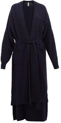 Extreme Cashmere - No.91 Koto Longline Stretch-cashmere Cardigan - Navy