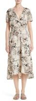 Zero Maria Cornejo Women's Isie Botanica Print Dress