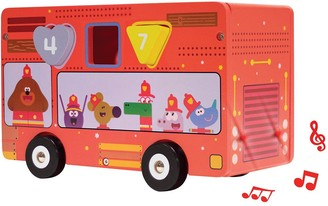 Baby Essentials Fire Bus Shape Sorter With Light & Sound