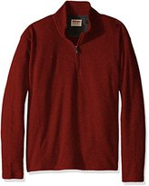 Wrangler Men's Big and Tall Sweater Fleece Quarter-Zip