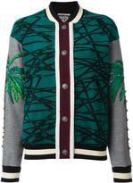 Fausto Puglisi multi print bomber jacket - women - Silk/Polyamide/Spandex/Elastane/Viscose - 40