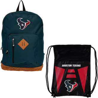 Northwest Company The Houston Texans Double Down Backpack Set