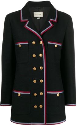 Gucci Web stripe jacket