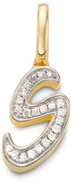 Monica Vinader Diamond Alphabet Pendant S