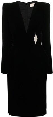 Alexandre Vauthier Fitted Tailored Blazer