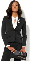 New York & Co. 7th Avenue Design Studio - One-Button Jacket - Signature Fit - SuperStretch