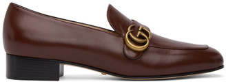 Gucci Brown Marmont Loafers