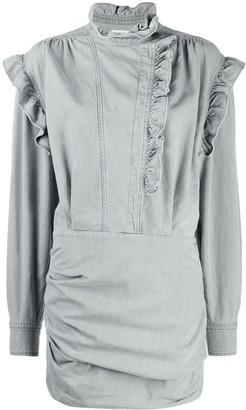 Etoile Isabel Marant Ruffle Style Dress