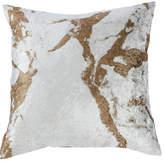 One Kings Lane Ryan 18x18 Velvet Pillow Cover - Gold