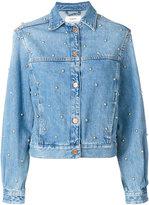 Etoile Isabel Marant studded Coften denim jacket - women - Cotton - 36