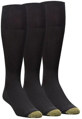 Gold Toe Metropolitan Big & Tall Dress Socks 3-Pack