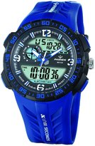 FORESEEX Sport Analog Digital Dual Time Water Resistant Wrist Watches Backlight Alarm Stopwatch for Teens Boys Girls
