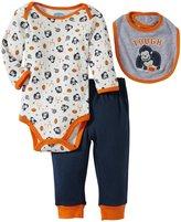 Bon Bebe Football Bodysuit Set (Baby)-Multicolor-0-3 Months
